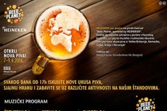 Program i satnica Beer Planet festivala u Misker House-u