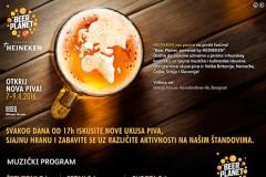 Program i satnica Beer Planet festivala u Misker House-u