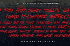 Arsenal Fest 06: Čeka vas eksplozija dobre muzike u Kragujevcu!