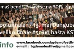 Belgrade Demo Fest Live poziva demo bendove da se prijave na konkurs