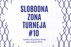 Deseta jubilarna turneja: Slobodna zona u 45 gradova u Srbiji