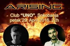 ARISING: Buđenje rejva u Sokobanji!
