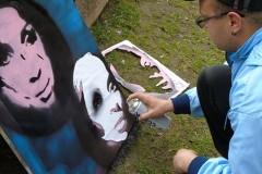 Grafiti vikend u Omoljici