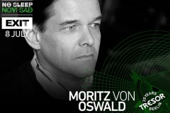 No Sleep Novi Sad: Kad Tresor slavi rođus na Exitu, muziku vrti Moritz von Oswald!