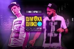 DJ BKO i DJ MOOOKA zaduženi za retro KPTM zatvaranje