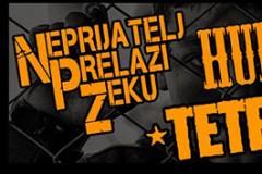 Punk rock svirka: Neprijatelj Prelazi Zeku, Tetrapank i Hund u Gerila Baru