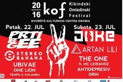 Kikindski omladinski festival 22. i 23. jula