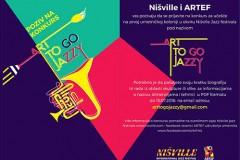 ART TO GO JAZZY: Učestvuj u umetničkoj kolonizaciji niške Tvrđave!