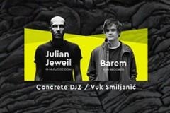 Vrela letnja techno žurka: Julian Jewil i Barem na Sajmu