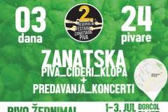PIVO ŽEDNIMA: Drugi Festival zanatskog piva na Dorćolu!