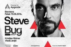 Prepare to Apgrade: Steve Bug u Barutani 19. avgusta!