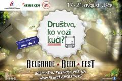 Durštvo, ko vozi kući: Prijavi se za besplatan prevoz na Belgrade Beer Fest!
