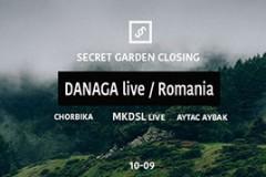 Danaga live nastupom zatvara Secret Garden