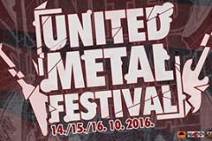 Sedmi United Metal Festival od 14. do 16. oktobra