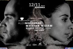 Alex Niggemann i Maayan Nidam donose zvuke Berlina u Novi Sad