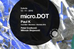 Paul K gost serijala micro.DOT: Jedinstveni rumunski minimal prvi put u Beogradu