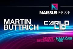 Naissus Fest: Dimiz, Martin Buttrich, Carlo Lio i TKNO u hali Čair