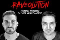 Rezerviši karte za praznični Raveolution: Metodi Hristov i Olivier Giacomotto 13. januara u Beogradu!
