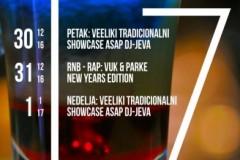 Tri žurke za novogodišnji vikend u Štab Pogonu