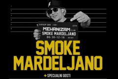 Smoke Mardeljano i braća po mikrofonu u klubu Mehanizam