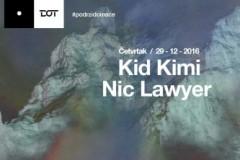 Novogodišnja euforija počinje ranije: Kid Kimi i Nic Lawyer u četvrtak u klubu DOT
