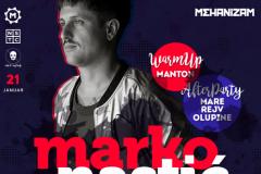 Marko Nastić u klubu Mehanizam