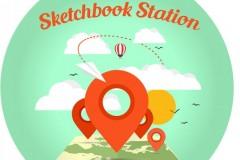 Sketchbook Station: Putujuća slikarska mapa Evrope