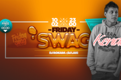 Friday Swag i Kendi za vikend u klubu KPTM