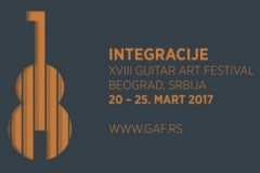 INTEGRACIJE: Guitar Art Festival održaće se od 20. do 25. marta