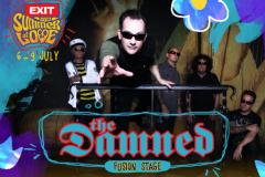 Gitarska ludnica na Tvrđavi: Pank veterani The Damned i Angelic Upstarts stižu na Exit