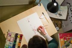 Sketchbook Station: Upoznajte Gretu Mockutė