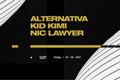 Alternativa, Kid Kimi i Nic Lawyer ovog petka u klubu DOT
