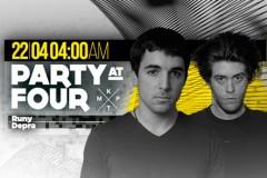 Ranojutarnji party: Runy i Depra otvaraju groovy dimenziju u klubu KPTM