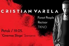 Cristian Varela u Sarajevu 19. maja