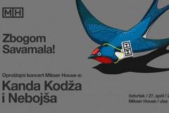 Mikser House večeras pravi oproštajni koncert