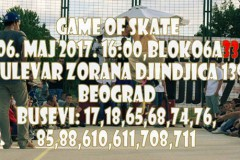 Breakthrough Game of Skate u subotu u Bloku 33