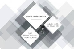 Happy After People: Petar Cvetković i Marko Vuković u White Lounge & Art Gallery