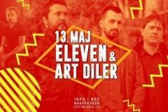 Eleven i Art Diler uživo u Rokanju