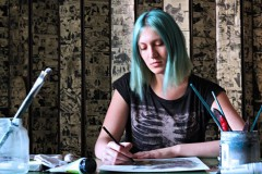 Sketchbook Station: Upoznajte Silviu Golju
