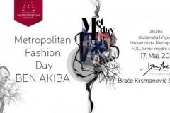 Metopolitan Fashion Day: Retrospektivna izložba studenata modnog dizajna u Ben Akibi
