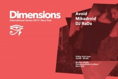 Zagrevanje za Dimensions festival 2. juna u Novom Sadu