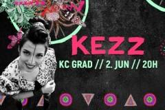 Kezz promoviše album 2. juna u KC Gradu