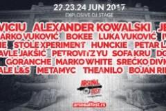 Arsenal Fest: Mihai Popoviciu, Alexander Kowalski i Jeremy Refson na Explosive stejdžu