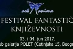 ART ANIMA: Četvrti festival fantastične književnosti prvog vikenda u junu