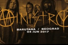 Pioniri industrial metala u Barutani: Ministry sviraju 4. juna