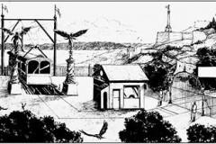 Crno-beli strip na Dev9t: Kakvu ulogu igraju svetlost i senke u crno-belom stripu?