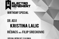 Electro Movement slavi prvi rođendan!