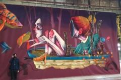 Zid KPZ u Požarevcu dobija murale - festival ulične umetnosti u Požarevcu