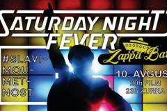 Žurka i filmska projekcija na Zappa Barci
