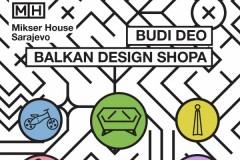 Javni poziv izlagačima za Balkan Design Shop @ Mikser House Sarajevo